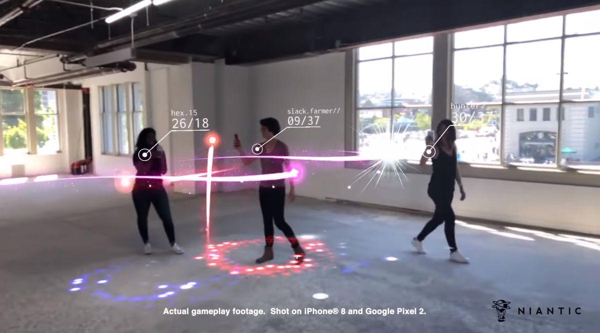 PvP (дуэли) в Wizards Unite - это Codename Neon?